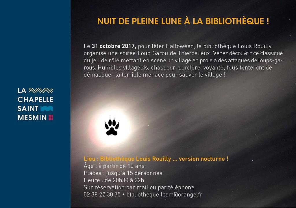 Affiche Loup-garou de Thiercelieux